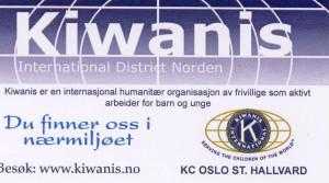 Kort til Kiwanisdukken front